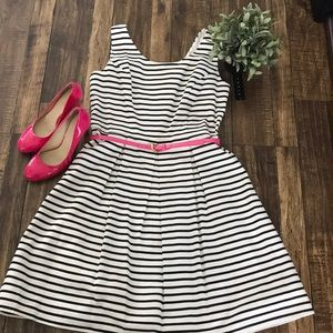 Tiana B. Dresses - NWT Tiana B Black and White striped dress